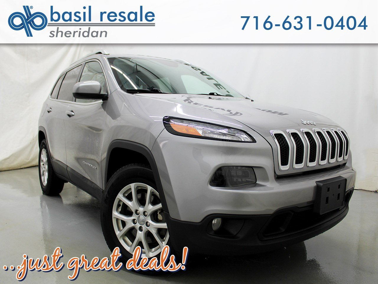 pre-owned 2016 jeep cherokee latitude sport utility in williamsville