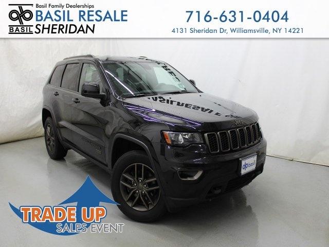 Jeep Grand Cherokee 75Th Anniversary >> Pre Owned 2016 Jeep Grand Cherokee 75th Anniversary 4wd