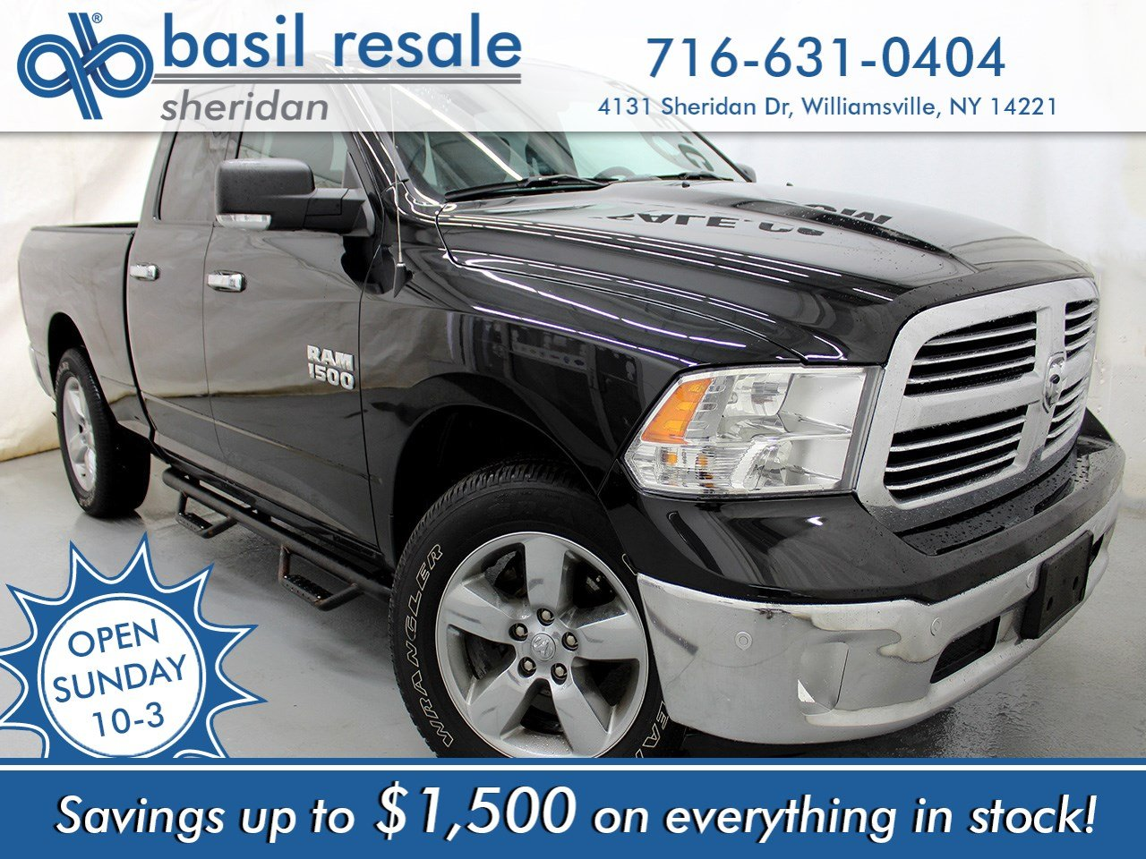 2016 Ram 1500 >> Pre Owned 2016 Ram 1500 Big Horn 4wd