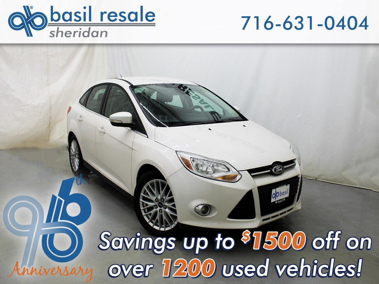 2012 Ford Focus Sel >> Pre Owned 2012 Ford Focus Sel Fwd 4dr Car