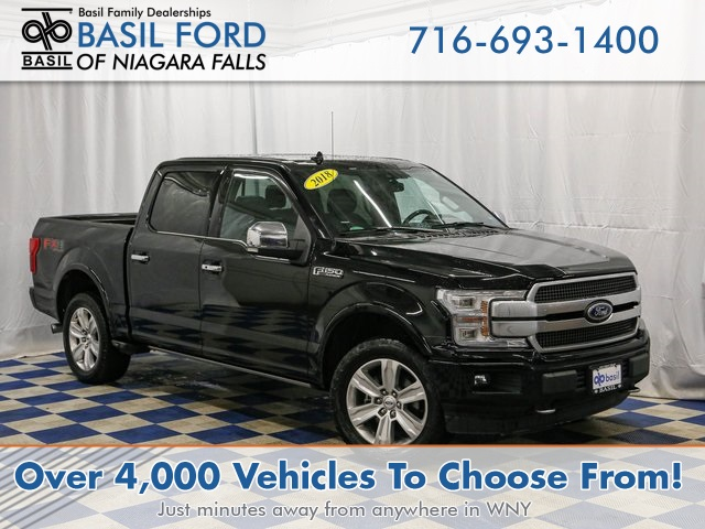 Pre-Owned 2018 Ford F-150 SUPER CREW