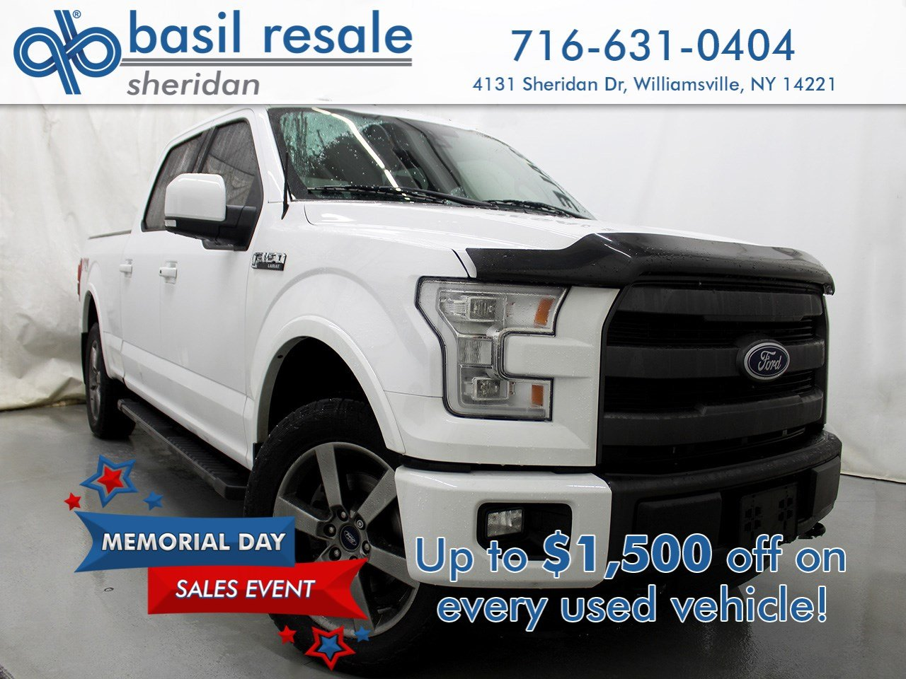 Pre-Owned 2015 Ford F-150 Lariat FX4
