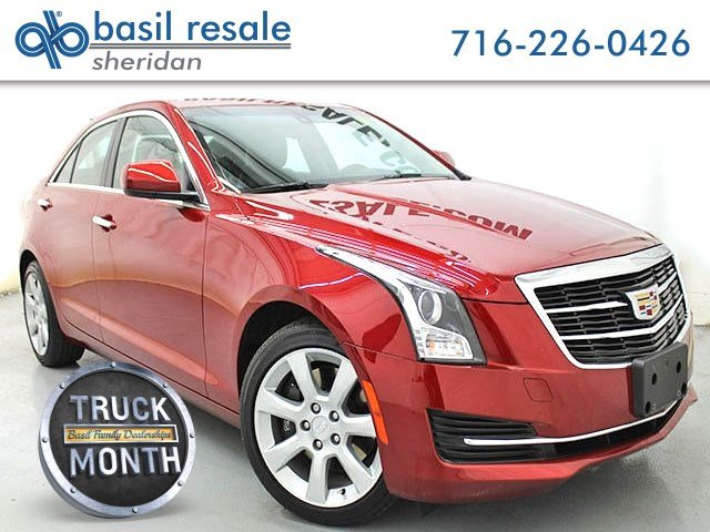 Cadillac Ats Sedan >> Pre Owned 2016 Cadillac Ats Sedan Standard Awd Awd