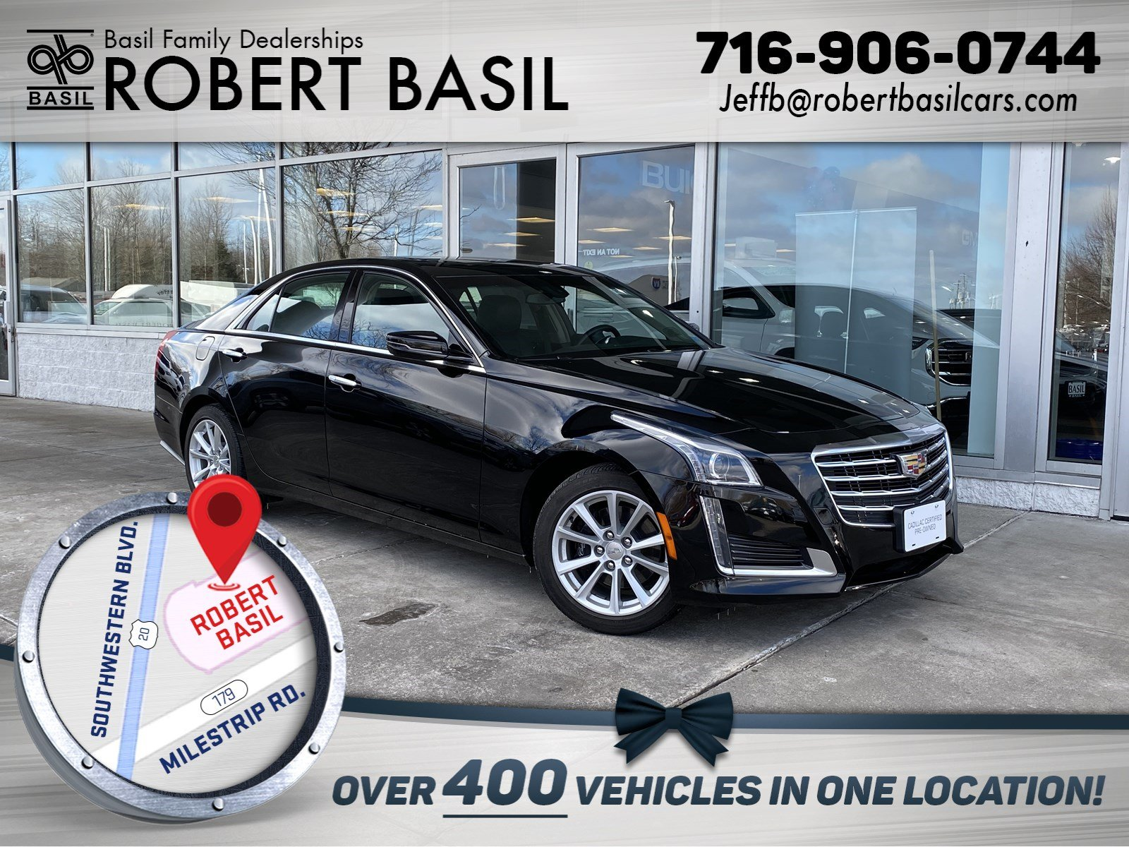Pre-Owned 2017 Cadillac CTS Sedan AWD