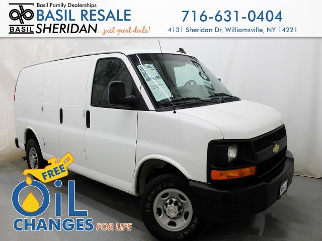 Pre-Owned 2017 Chevrolet Express Cargo Van