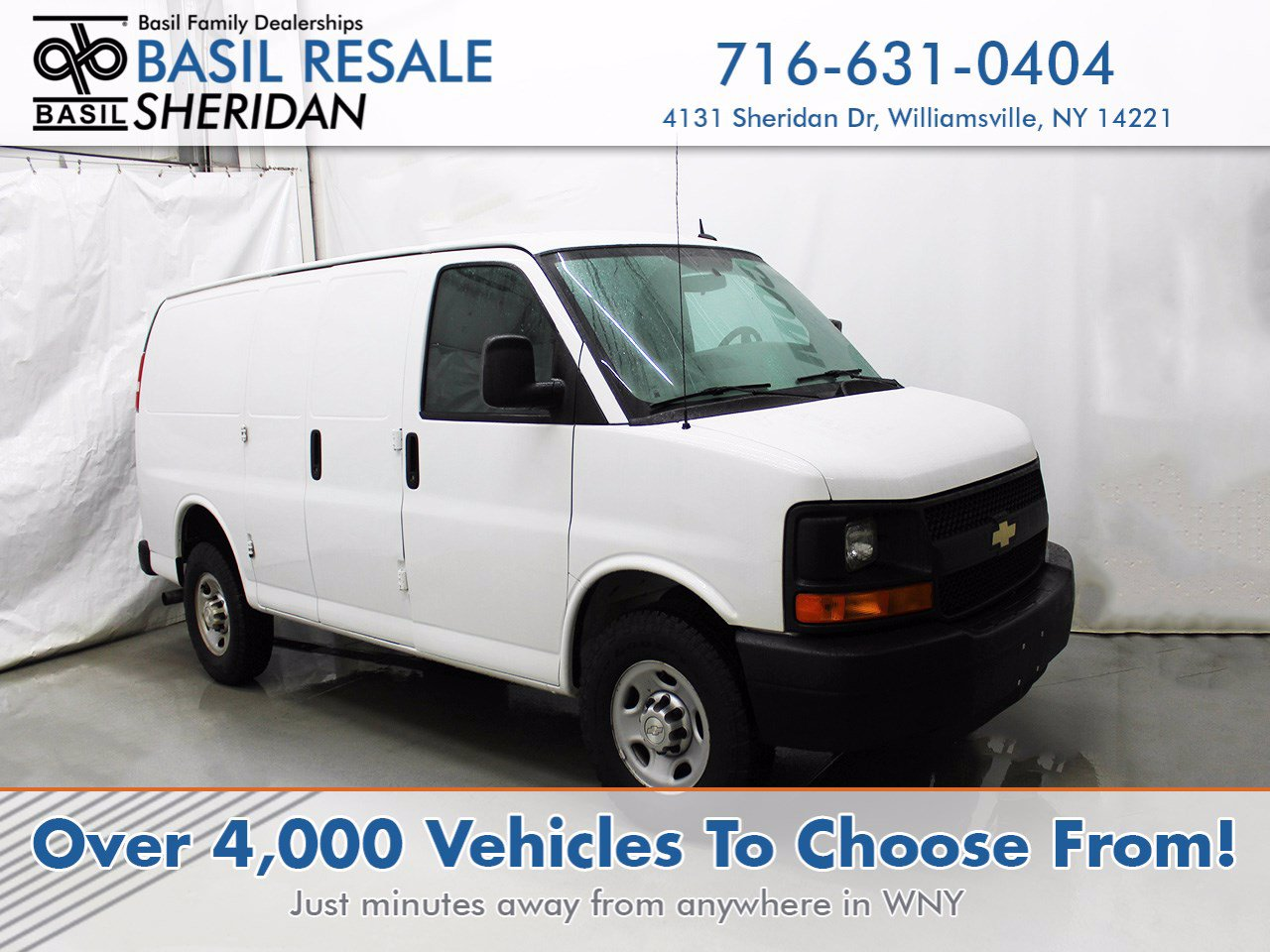 Pre-Owned 2015 Chevrolet Express Cargo Van