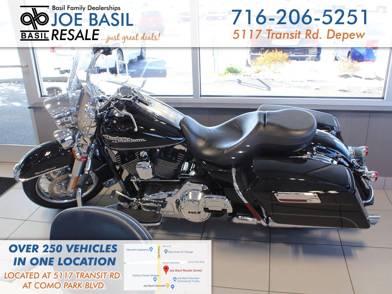 Pre-Owned 2012 ROAD KING HARLEY