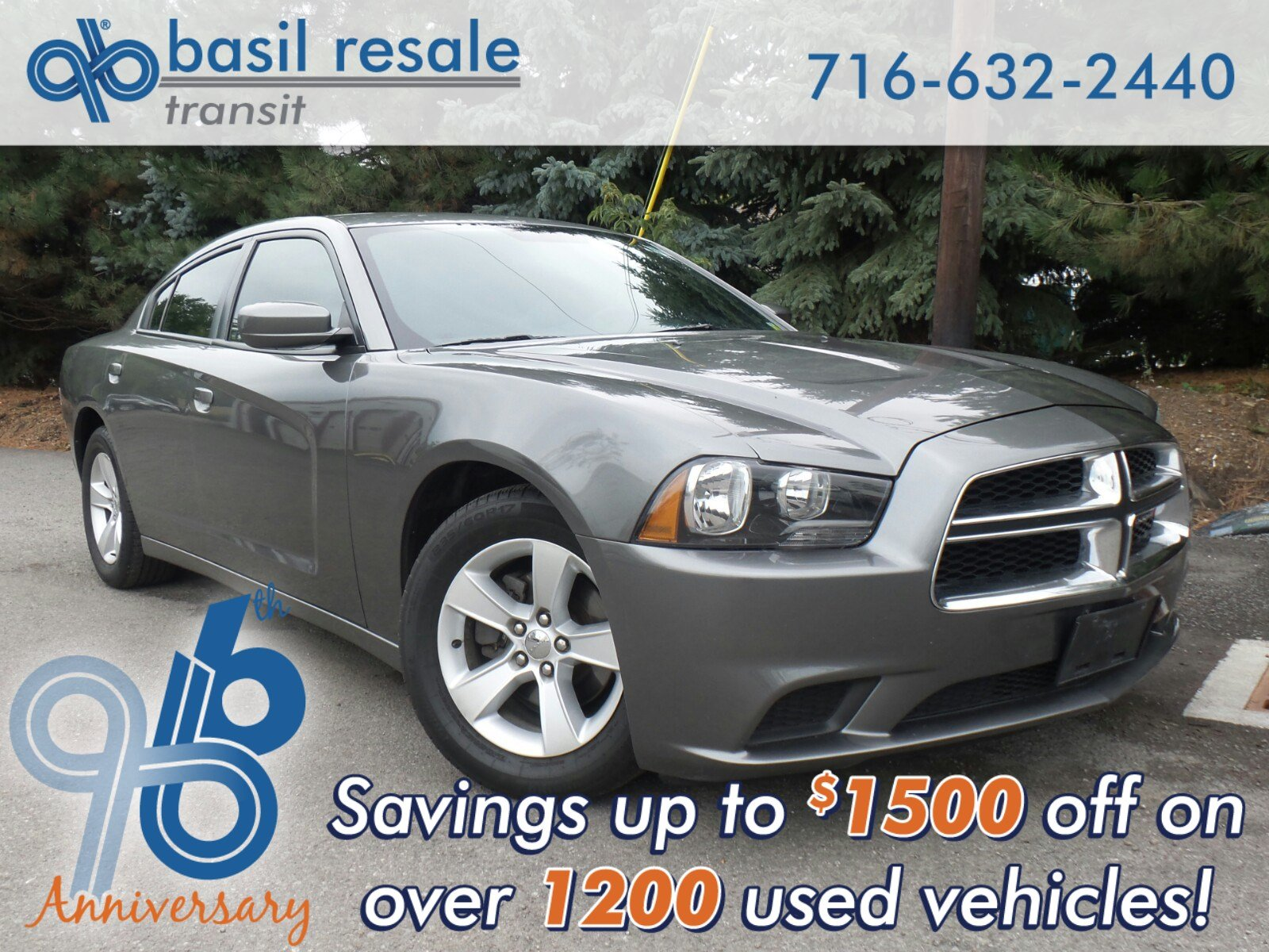 2012 Dodge Charger For Sale >> Pre Owned 2012 Dodge Charger Se Rwd 4dr Car