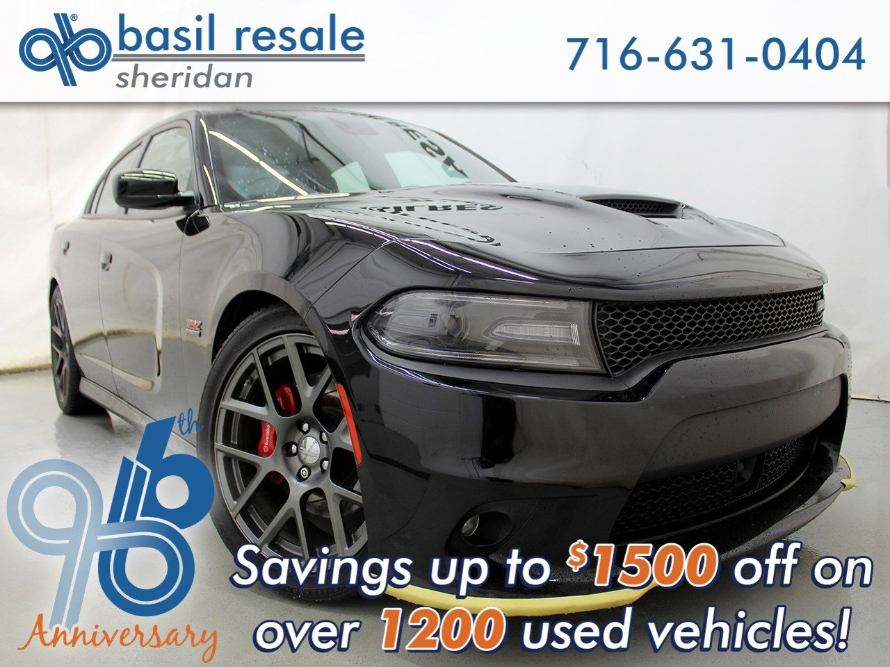 Pre-Owned 2016 Dodge Charger R/T Scat Pack