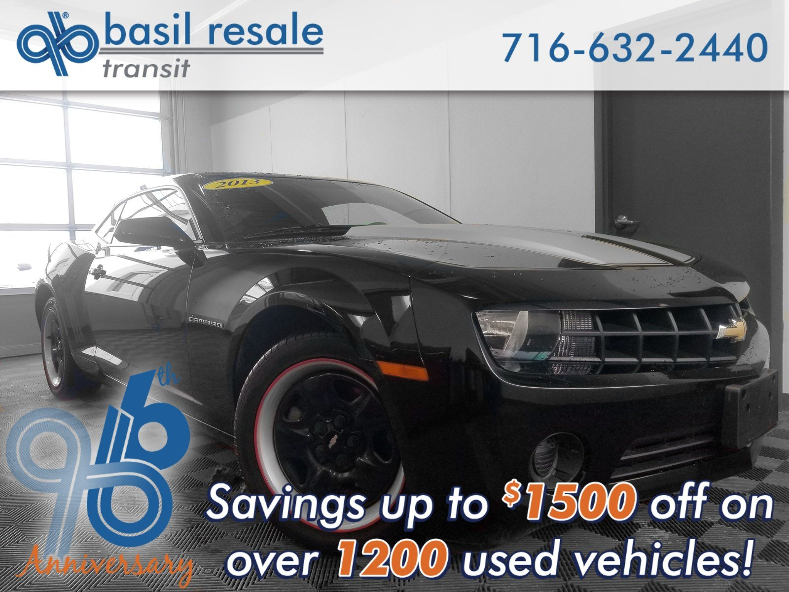 Pre-Owned 2013 Chevrolet Camaro LS