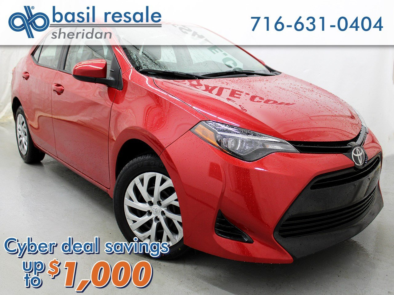 Pre Owned 2017 Toyota Corolla 50th Anniversary Special Edition