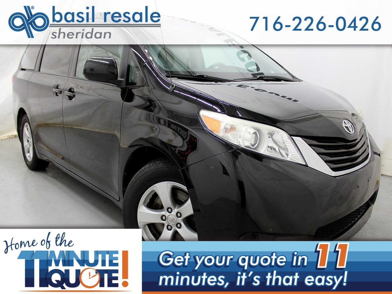 Pre Owned 2011 Toyota Sienna