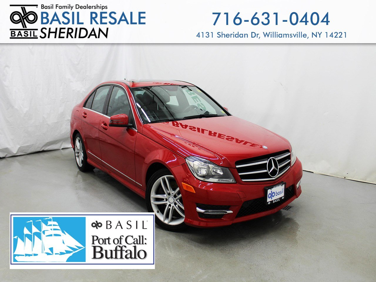 Pre Owned 2014 Mercedes Benz C Class 4dr Car In Williamsville