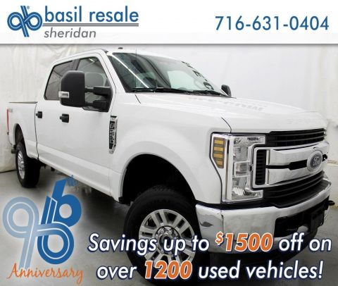 Pre-Owned 2018 Ford Super Duty F-250 SRW XLT FX4
