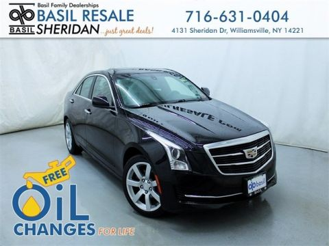 Pre-Owned 2015 Cadillac ATS 2.5L