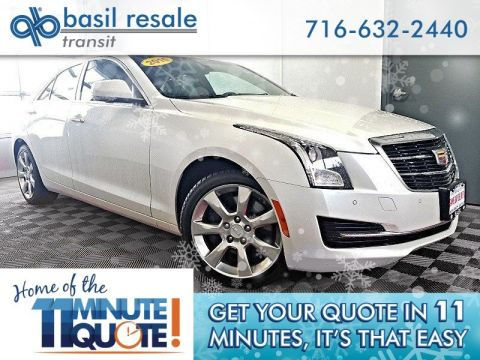 Pre-Owned 2015 Cadillac ATS Sedan Luxury AWD