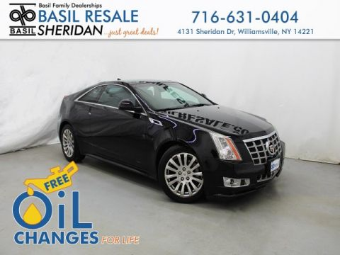 Pre-Owned 2013 Cadillac CTS Coupe Premium