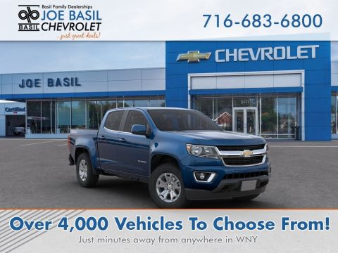 New 2020 Chevrolet Colorado 4WD LT Crew Cab Pickup