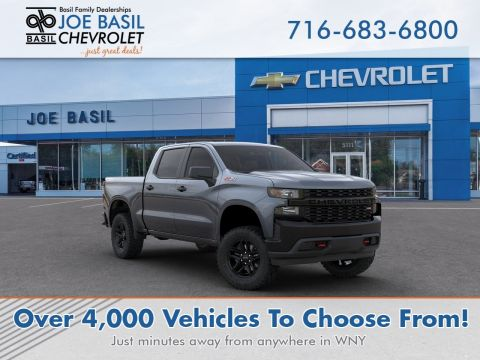 New 2020 Chevrolet Silverado 1500 Custom Trail Boss Crew Cab Pickup